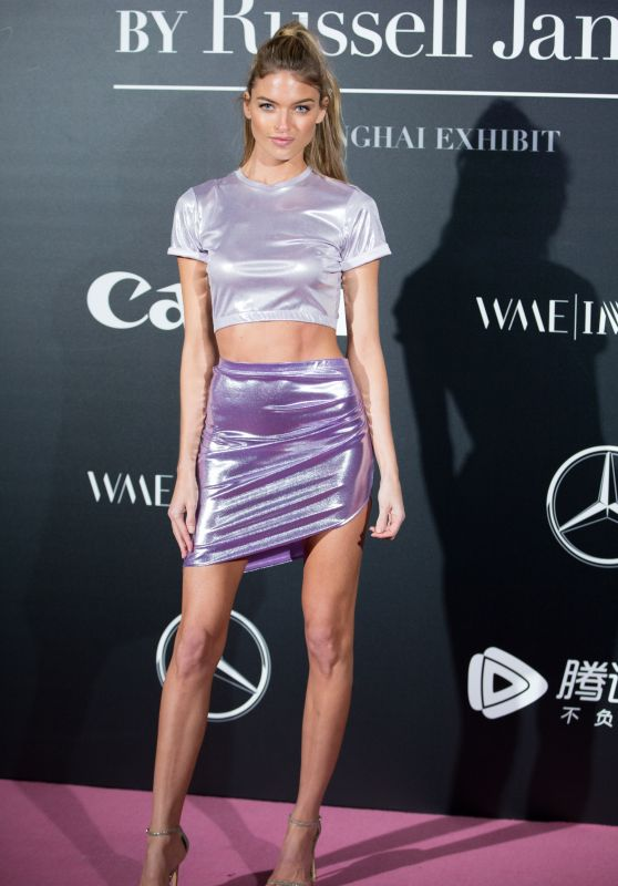 Martha Hunt – Russel James Book Launch in Shanghai 11/18/2017