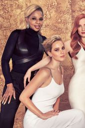 Mary J. Blige – Hollywood Reporter 2017 Actress Roundtable