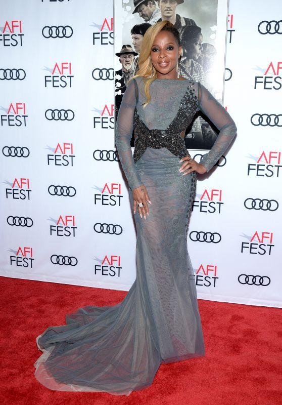 """Mary J. Blige – """"Mudbound"""" Premiere in Los Angeles"""