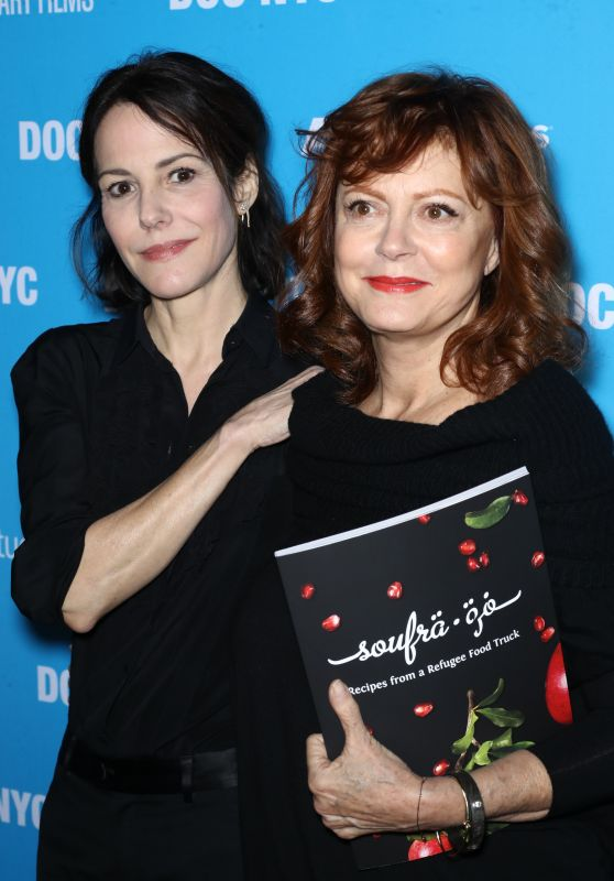 "Mary-Louise Parker and Susan Sarandon - ""Soufra"" Premiere in New York 11/12/2017"