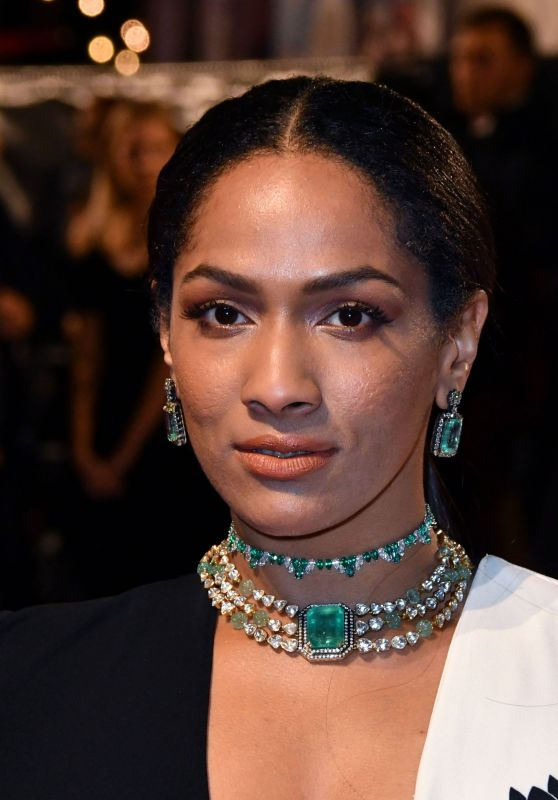 """Masaba At Amazon India Fashion Week Spring Summer 2017: """"The Crown"""" TV Show Premiere In London"""