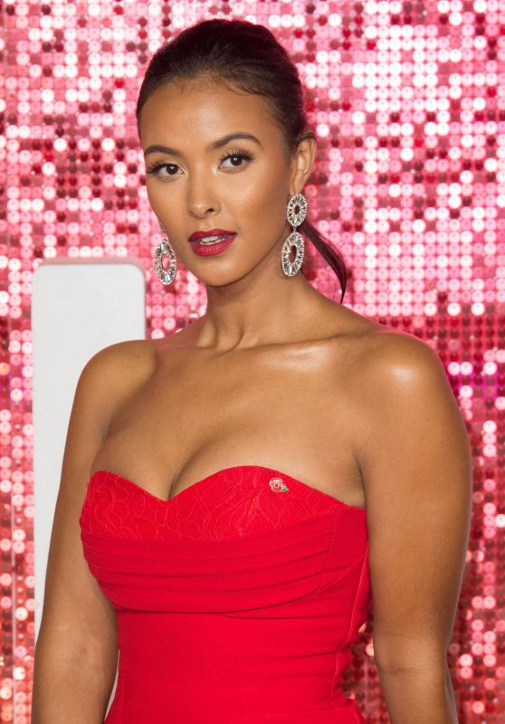 Maya Jama – ITV Gala Ball in London 11/09/2017