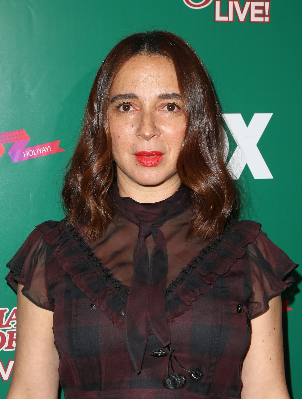 Maya Rudolph A Christmas Story Live Lighting Event In