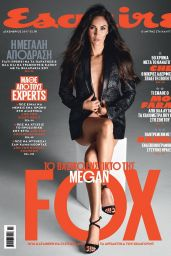 Megan Fox - Esquire Magazine Russia December 2017 Cover and Pics