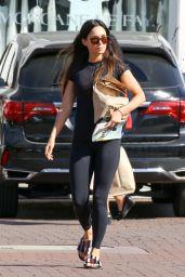 Megan Fox in Workout Gear - Leaves Her Yoga Class in Malibu 11/03/2017