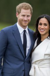 Meghan Markle and Prince Harry Announce Their Engagement - Kensington Palace in London 11/27/2017