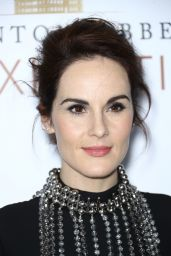 "Michelle Dockery - ""DOWNTON ABBEY: The Exhibition"" in New York 11/17/2017"
