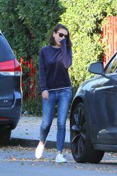Mila Kunis Street Style - Los Angeles 11/27/2017