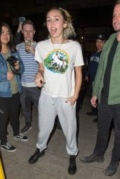 Miley Cyrus After Rehearsing at NBC Studios in NYC 11/03/2017