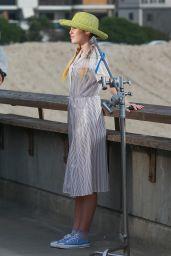Miley Cyrus - Converse Ad Photoshoot in Venice Beach 11/16/2017