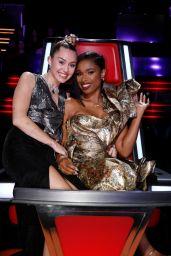 Miley Cyrus - The Voice Season 13 Live Show