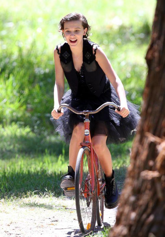 Millie Bobby Brown - Photoshoot in Sydney 11/15/2017