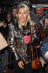 Mollie King at the Tower Ballroom in Blackpool 11/18/2017