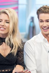 Mollie King - Lorraine TV Show in London 11/15/2017