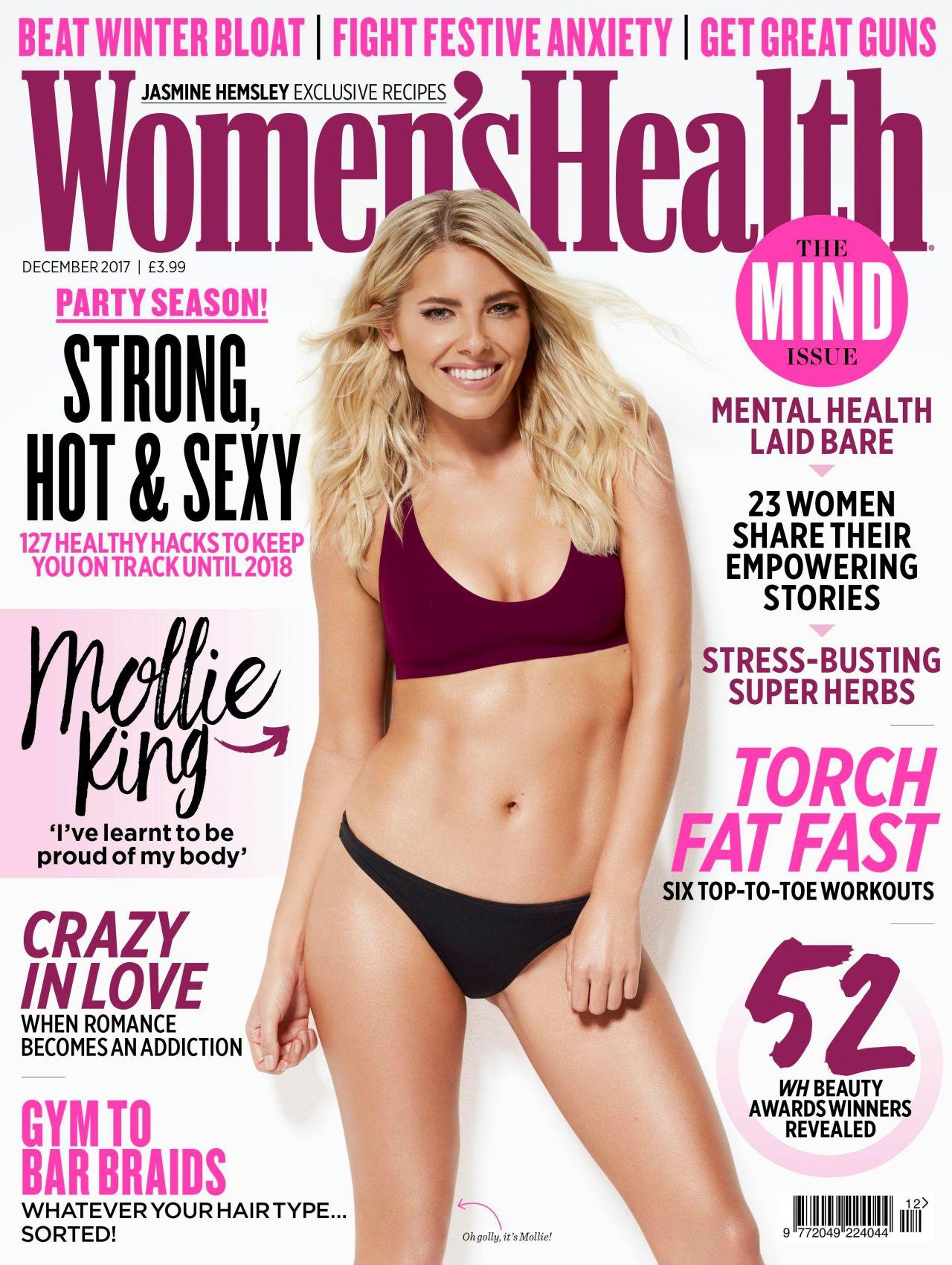 Mollie King - Women's Health December 2017