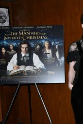 "Morfydd Clark - ""The Man Who Invented Christmas"" Movie Premiere in London"