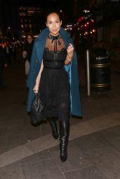 Myleene Klass Night Out Style - London 11/15/2017
