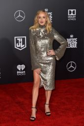 """Nastia Liukin – """"Justice League"""" Red Carpet in Los Angeles"""