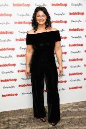 Natalie J Robb at Inside Soap Awards 2017 in London