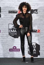 Nathalie Emmanuel – MTV Europe Music Awards 2017 in London
