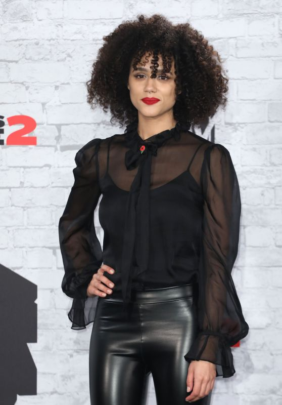Nathalie Emmanuel – MTV Europe Music Awards 2017 in London
