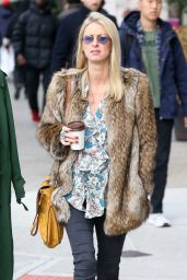 Nicky Hilton Street Fashion - NYC 11/14/2017