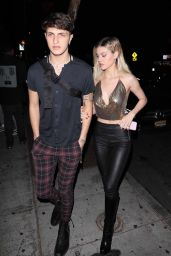 Nicola Peltz and Anwar Hadid - Halloween party at Delilah in West Hollywood 10/31/2017