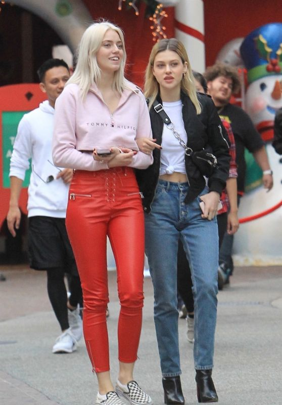 Nicola Peltz - Shopping at The Grove in Hollywood 11/16/2017