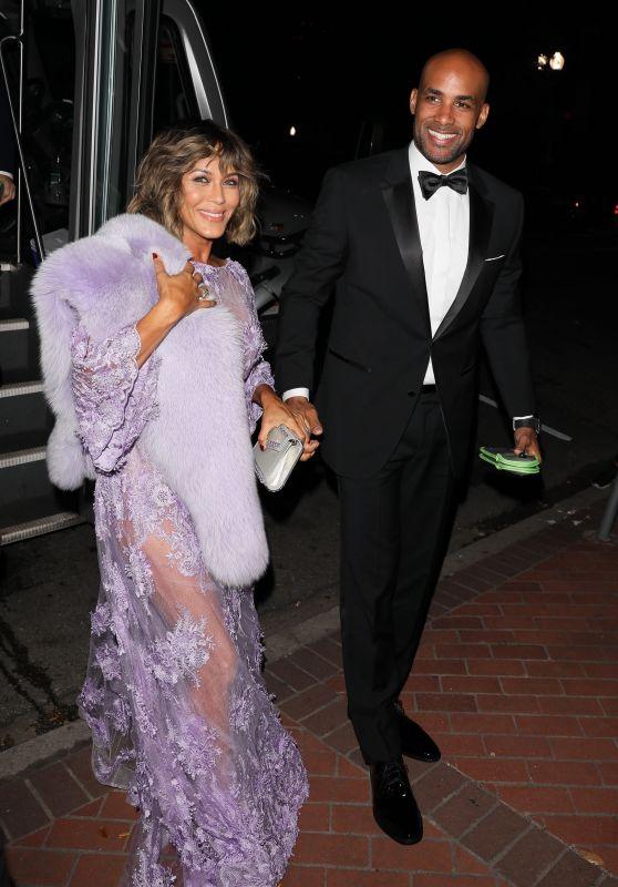 Nicole Ari Parker and Boris Kodjo - Serena Williams and Alexis Ohanian Wedding in New Orleans 11/16/2017