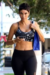 Nicole Murphy in Workout Gear - Los Angeles 11/22/2017
