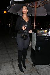 Nicole Murphy Night Out Style - Delilah Club in LA 11/18/2017