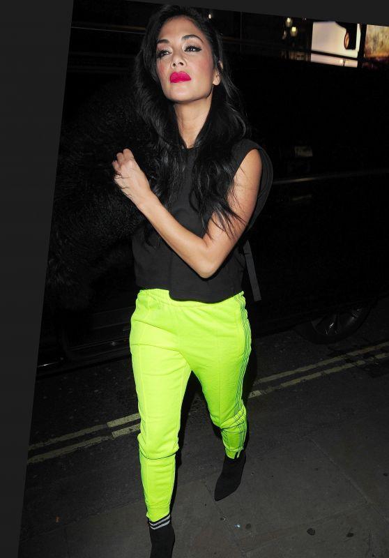 Nicole Scherzinger - Arriving at Reign Nightclub in London