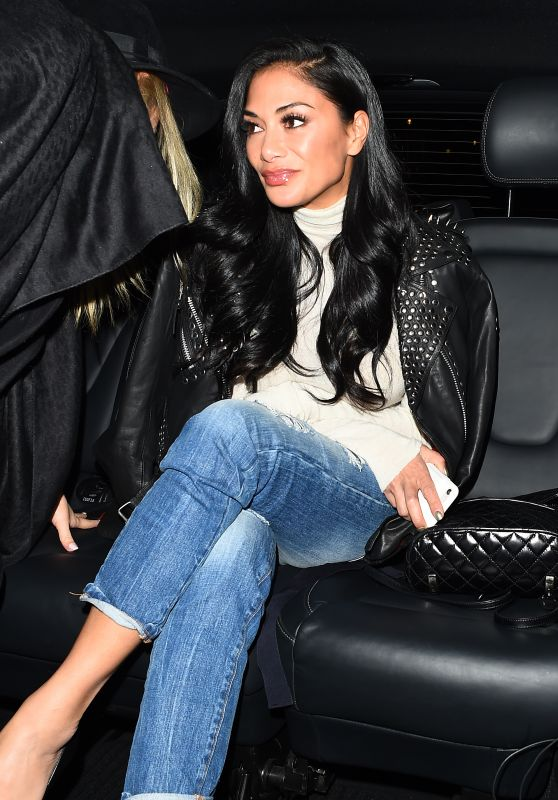 Nicole Scherzinger Night Out - Milos Restaurant in London 11/18/2017