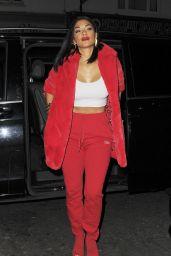 Nicole Scherzinger Night Out Style - London 11/26/2017