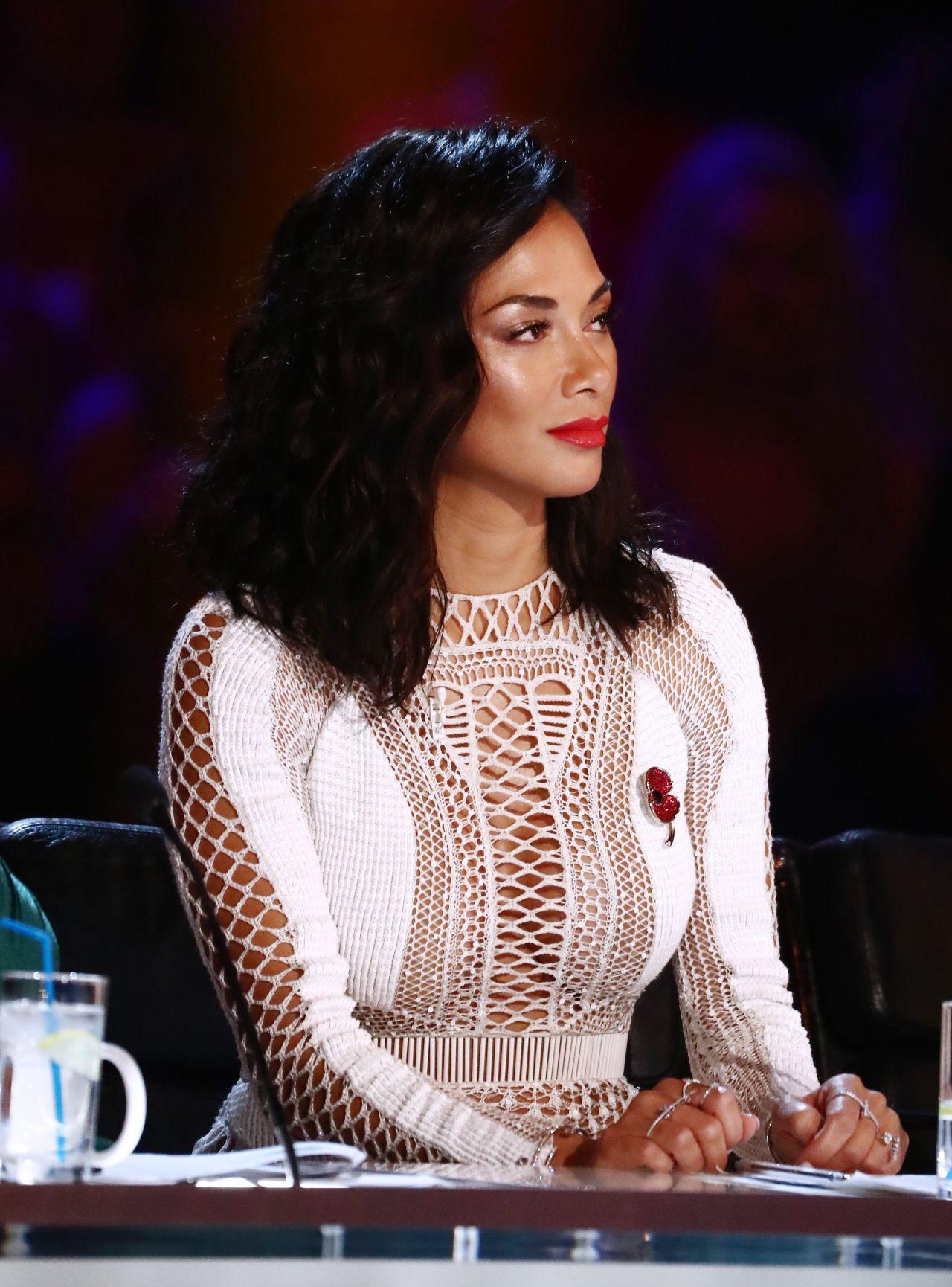 Nicole Scherzinger The X Factor Tv Show 11 05 2017