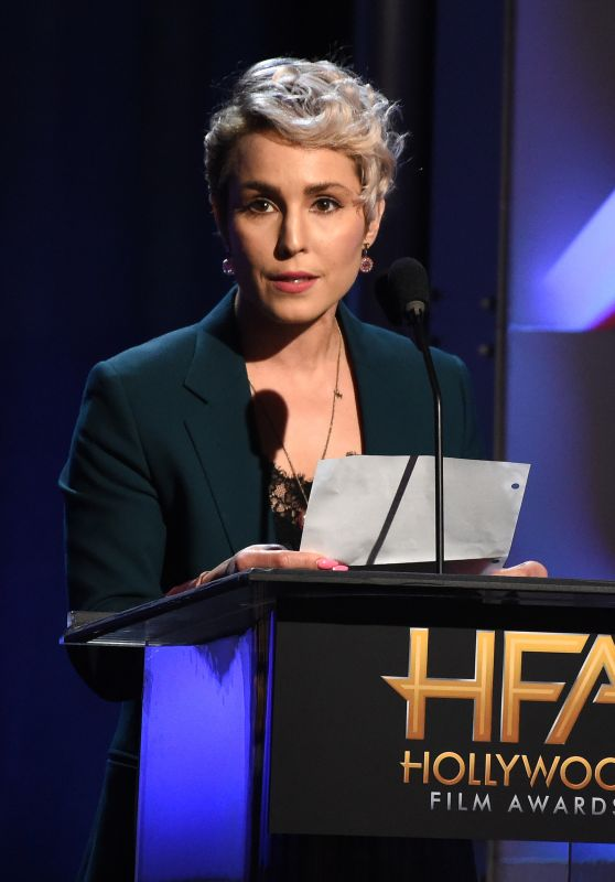 Noomi Rapace – Hollywood Film Awards 2017 in Los Angeles