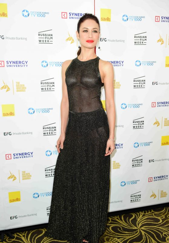 Olga Kurylenko - Golden Unicorn Awards 2017 in London