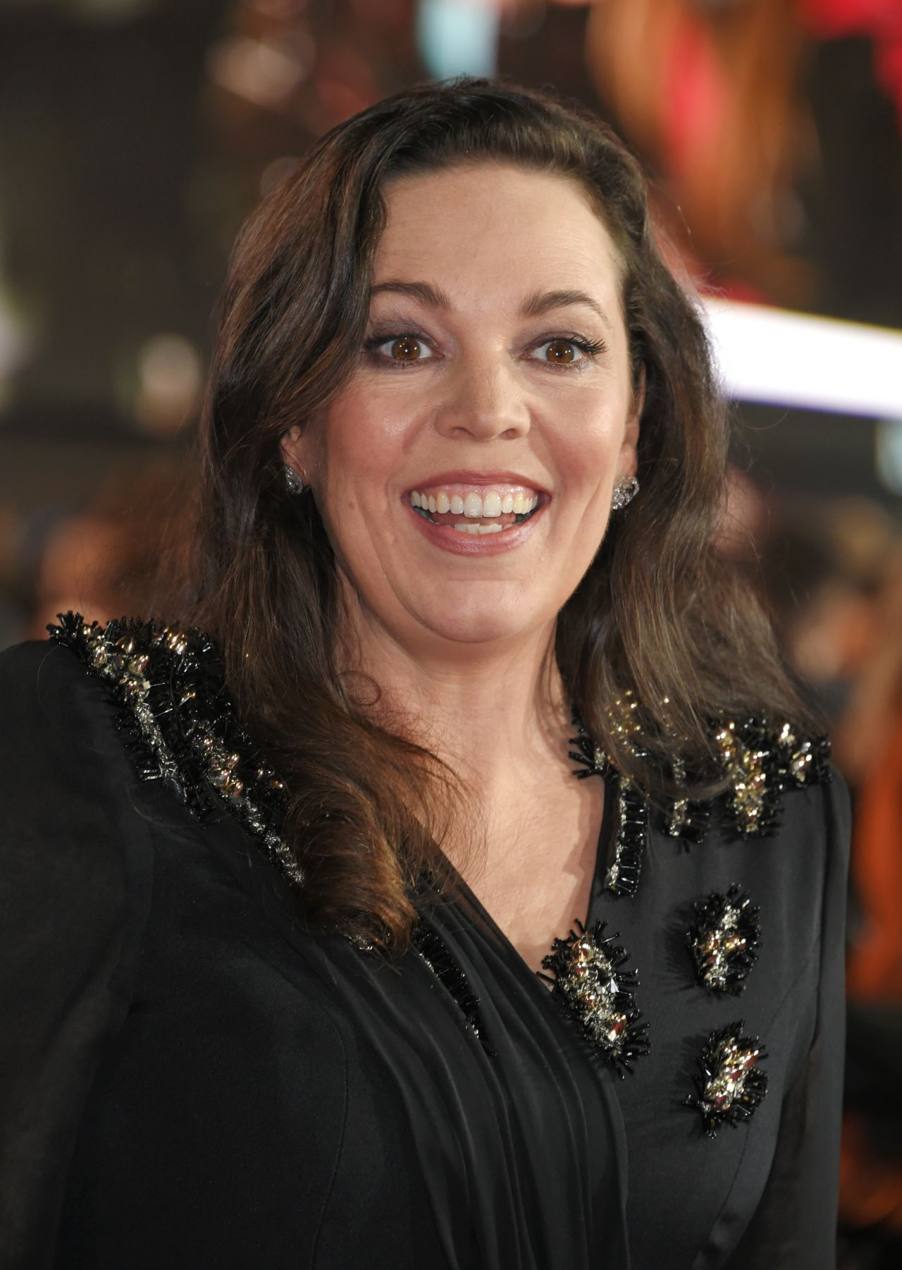 Olivia Colman Murder Orient Express Red Carpet