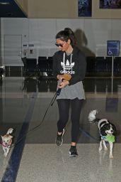 Olivia Munn - LAX Airport in LA 11/22/2017