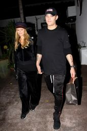Paris Hilton and Boyfriend Chris Zylka - Shopping at the Beverly Glen Circle 11/27/2017