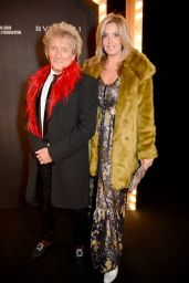 Penny Lancaster and Rod Stewart – CLUB LOVE For The Elton John AIDS Foundation In Association With BVLGARI in London