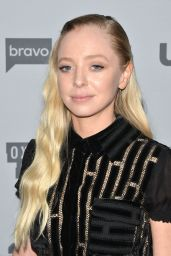 Portia Doubleday – NBCUniversal Holiday Kick Off Event in LA 11/13/2017
