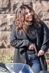 "Priyanka Chopra - On the Set of ""Quantico"" in NY 11/21/2017"