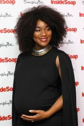 Rachel Adedeji at Inside Soap Awards 2017 in London