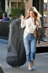 Rachel Bilson - Shopping at Rachel Comey on Melrose Place 11/08/2017