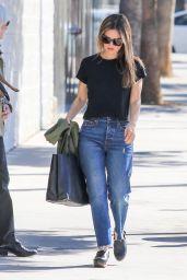 Rachel Bilson Street Style - Los Angeles 11/06/2017