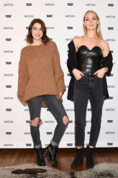 Rachel Skarsten and Adelaide Kane - Levi's by Aritzia Collection Launch in Los Angeles