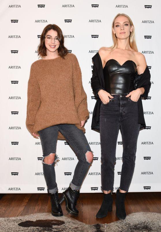 Rachel Skarsten and Adelaide Kane - Levi