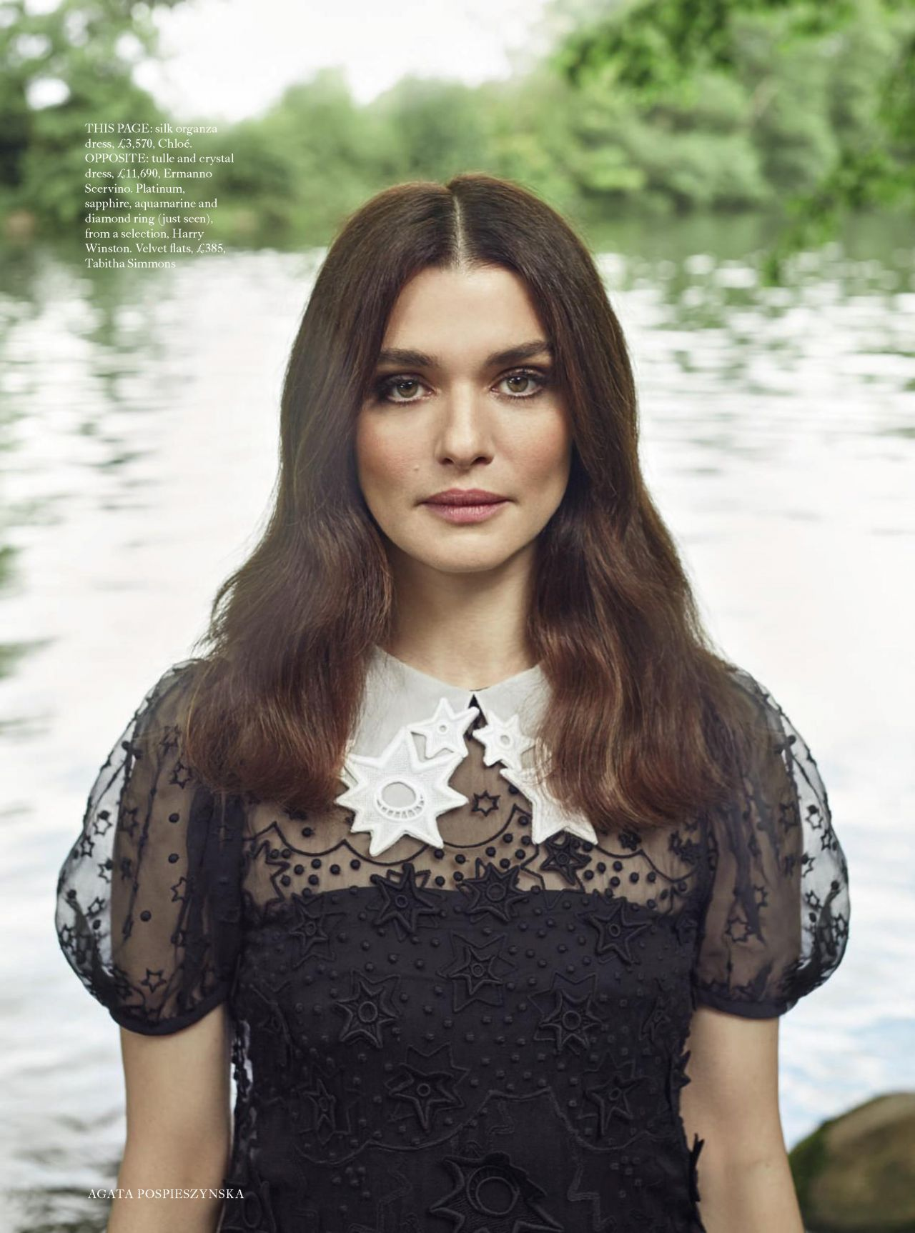 Rachel Weisz Harper S Bazaar Uk October 2017