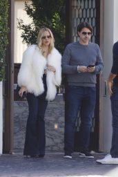 Rachel Zoe and Husband Rodger Berman - Leave Cecconi
